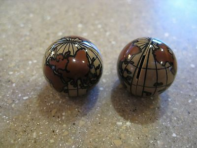 NEW LEGO LOT OF 2 WORLD GLOBES FROM PIRATES OF THE CARIBBEAN SET 4191