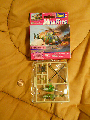 "REVELL BK117 HELICOPTER PLASTIC ASSEMBLY SNAPFIT MODEL ""MINI-KIT"" (NEW IN BOX)"