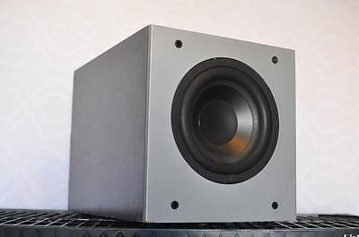 "Polk Audio PSW303B 8"" 100-Watt Powered Home Theater / Music Subwoofer PSW Sub"