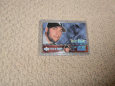 Danny Wright ROOKIE CARD White Sox 2002 UD PIECE OF HISTORY /625!! RARE!!