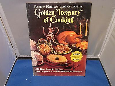 VINTAGE COOKBOOK BETTER HOMES AND GARDENS GOLDEN TREASURY OF COOKING
