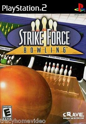 STRIKE FORCE BOWLING (PlayStation 2 / PS2) COMPLETE with INSTRUCTIONS!
