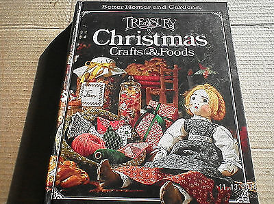 TREASURY CHRISTMAS CRAFTS & FOODS...BETTER HOMES AND GARDENS....1980