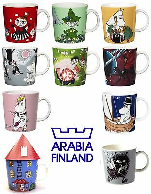 Arabia Iittala Ceramic Moomin Mugs Cup, 300ml, Various Designs