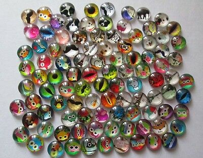 Hot! MIXED style 100PCS floating charm DIY for glass living memory locket #0148