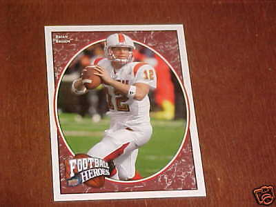 2008 UD Heroes Brian Brohm RC #113 Packers Louisville