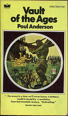 Vault of the Ages by Poul Anderson-Vintage Avon PB 1st Printing-1969