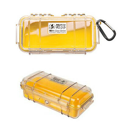 Pelican i1030-YLW  Micro Case, Yellow, New, Free Shipping