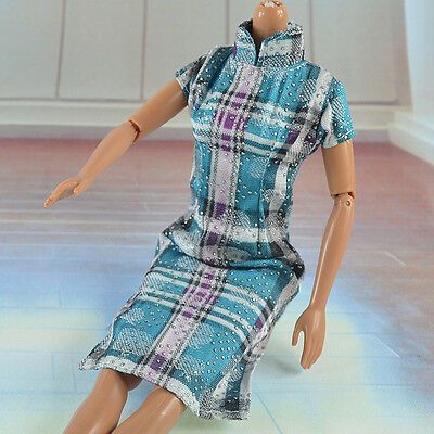 lovely New Handmade Party Clothes Fashion Dress for Noble Barbie Doll  *&*bab91