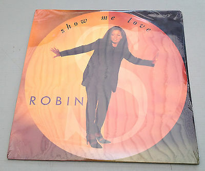 Show Me Love by Robin Original Vinyl Album LP Record Sealed 2 LPs Records