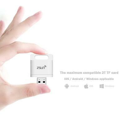 ZSUN Mobile Phone Extend Disk Wifi Wireless Memory Card Reader For iPhone 6 W BF