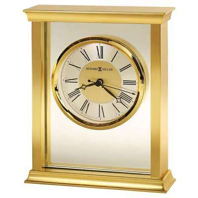 Howard Miller Monticello Table Clock, polished brass - 645754