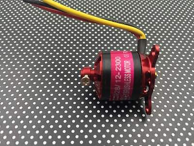 CUB Brushless outrunner motor M2028 2300KV for RC Multicopter airplane EMP