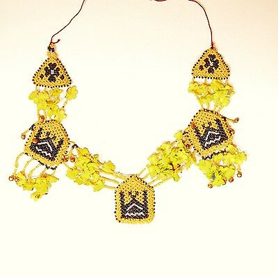 Belly Dance ATS Tribal NECKLACE Kuchi Afghani 805b1