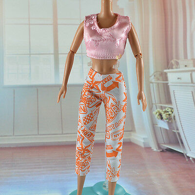 lovely New Handmade Party Clothes Fashion Dress for Noble Barbie Doll   *&*bab93