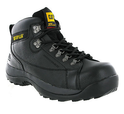CAT Caterpillar Hydraulic S3 Safety Mens Industrial Steel Toe Cap Boots UK6-13