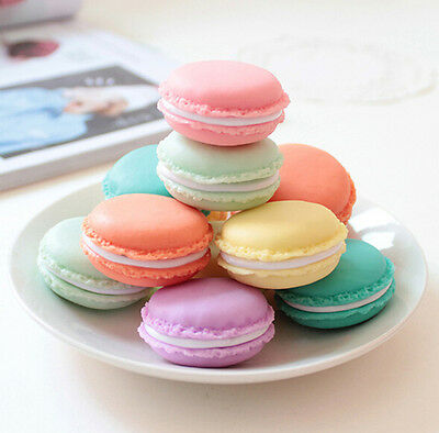 Macaron Shape Jewelry Gift Necklace Ring Earring Package Candy Color Case Box