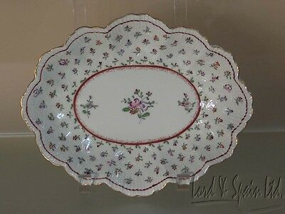 Pretty Thieme Dresden Germany Hand Painted Floral Bowl or Dish