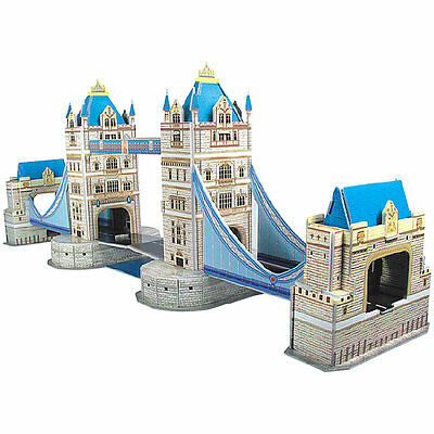 "Playtastic Faszinierendes 3D-Puzzle ""Tower Bridge"" in London, 41 Puzzle-Teile"