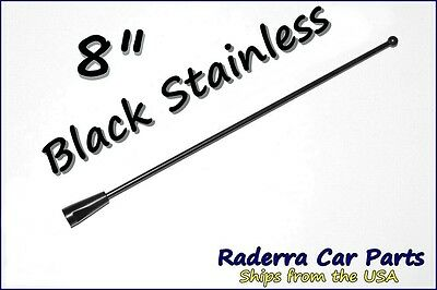 "2004-2006 Buick Rainier Fits 31/"" Black Spring Stainless AM//FM Antenna Mast"