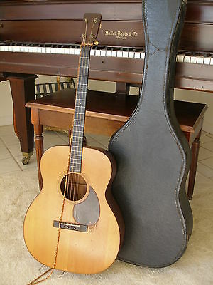 1930 CF Martin 0-18T Acoustic Tenor Guitar with case original Grover tuners OM