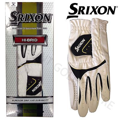 Srixon Hi-Brid Leather Golf Glove Left hand *Single and 3 Pack available*