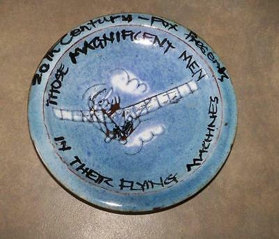 1965 Those Magnificent Men In Their Flying Machines Promo Souvenir Pottery Plate