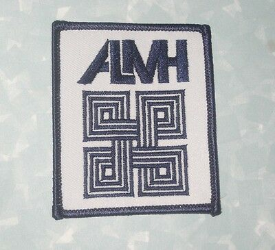 """ALMH Patch - 2 1/2"""" x 3"""" - Abraham Lincoln Memorial Hospital. Lincoln, Illinois"""