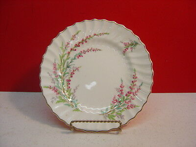 Royal Doulton BELL HEATHER Salad Plate Scalloped Gold