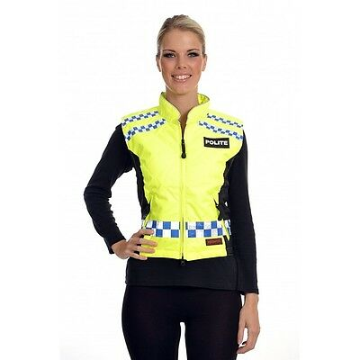 Equisafety Polite Gilet - Quilted -  Reflective and fluorescent gillet