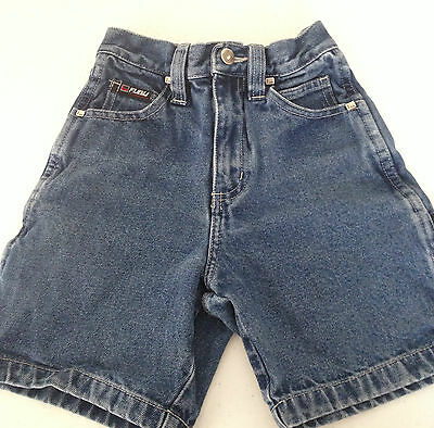 Fubu Collection Denim Jeans Shorts Kids Boys Size 4 Carpenter Board Skate