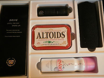 Cadillac Promo Gift Altoids Evian Binocular Micro Fiber Cloth Glove Box Kit New