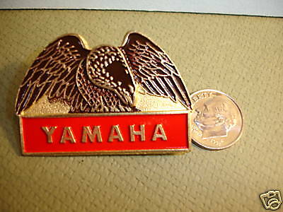 "Vintage Yamaha Eagle Pin Rare Collector New Large 1.75"" FREE SHIPPING Biker"