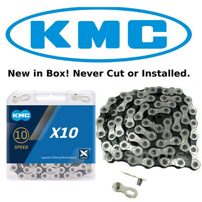 KMC X10.93 10 Speed Bike Chain fits Shimano Campagnolo SRAM DX10SC Stretchproof