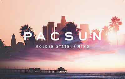 PacSun Gift Card $25/ $50/ $100 US Mail Delivery