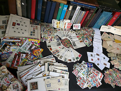 ✯ US and Worldwide Stamp Collection Old Estate ✯ Covers FDCs Mint ✯ 650+ Stamps✯