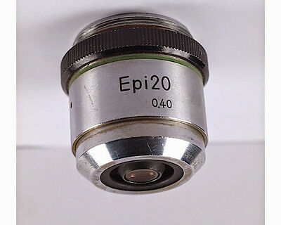 Nikon EPI 20x /.40 M27 thread Microscope Objective