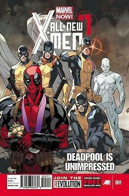 All New X-Men #1 Deadpool Unimpressed Retail Variant Nm+ Marvel Movie