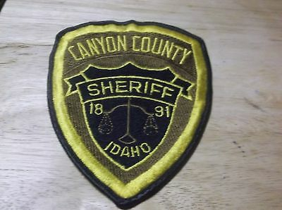 GOODING COUNTY, Idaho Sheriff Police Shoulder Patch Id - $7 99