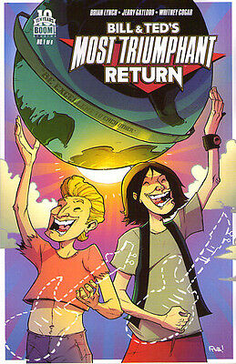 Bill & Ted's most triumphant return #1 1:25 R Guillory Variant Boom 1st print NM