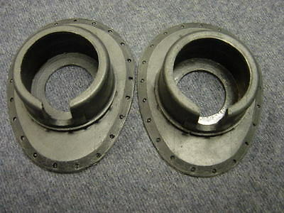 RAF WW2 C Type Flying Helmet Receiver Housings Ear Cups Oxygen Mask Goggles