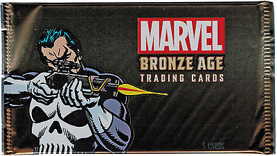 Marvel Bronze Age 2012 Factory Sealed 5 Card Pack