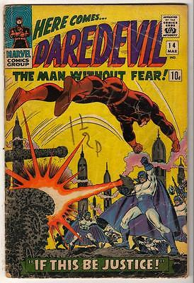 MARVEL Comics DAREDEVIL CENT COPY VOL 1 Issue 14 VG-