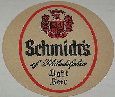 "Lot of 5 Schmidt/'s Beer-Philadelphia PA 3 1//2/"" 1960/'s #029..2 sided /""One/"""