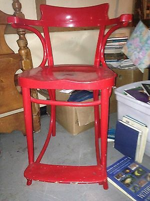 Unusual Vintage Bentwood Chair by Thonet ??? Tall Stool High chair MAKE OFFER!!!