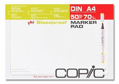 Copic Marker Pad - A4 Size - Graphic Artist Paper - 50 Sheets - Bleedproof