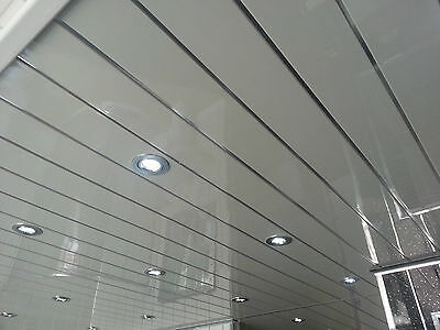 4 Twin Chrome Bathroom Wall Panels Upvc Shower Wet Wall