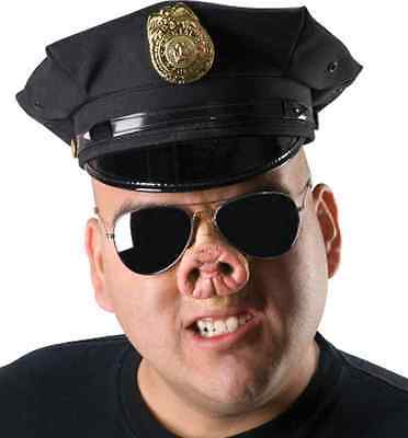 Pig Nose Cop Farm Animal Fancy Dress Halloween Costume Makeup Latex Prosthetic