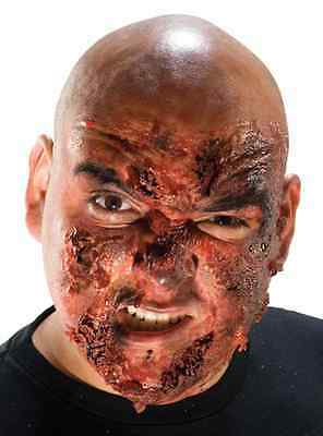 Burn FX Kit Face Scar Wound Dress Up Halloween Costume Makeup Latex Prosthetic