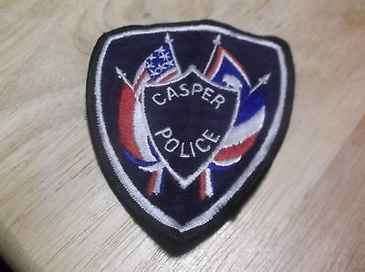 CR9) Casper Wyoming Police Patch